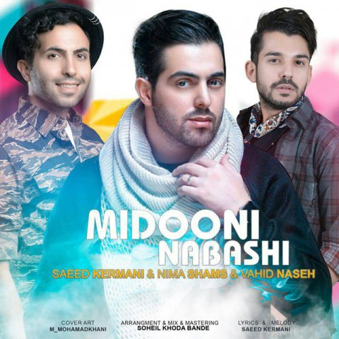 دانلود آهنگ جدید سعید کرمانی، نیما شمس و وحید ناصح به نام میدونی نباشی