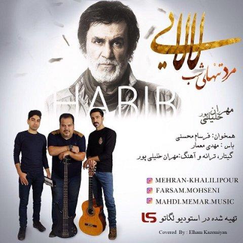 دانلود آهنگ جدید مهران خلیلی پور به نام لالایی حبیب